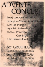 poster Adventsconcert 2004