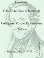 poster Felix Mendelssohn Bartholdy