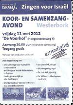 poster Samenzangavond 2012