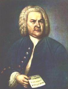 portres J.S. Bach